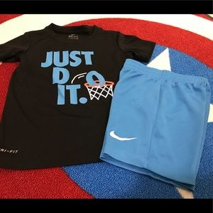 Nike boys Dri-Fit outfit